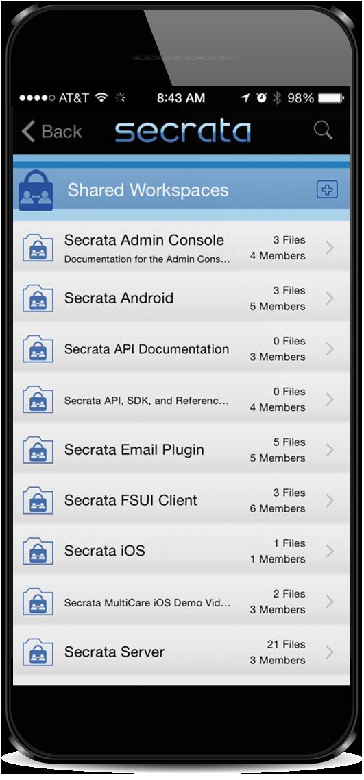 EFSS on mobile